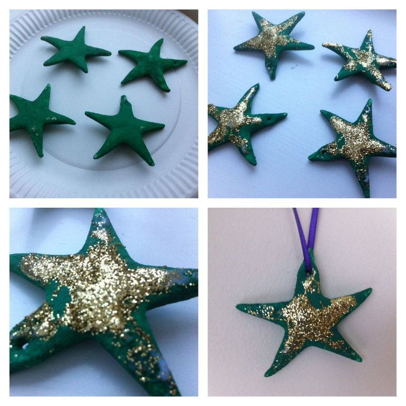 Christmas star crafts for preschoolers images for Arts and crafts christmas decoration ideas