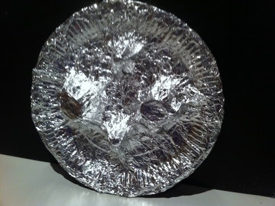 shield, viking, creative, art, kids, craft, tin foil, aluminium foil, kitchen foil, egg box